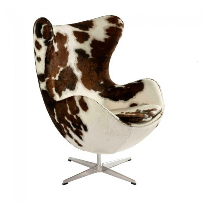 Terrific Ann Jacobsen Egg Chair Cowhide Evergreenethics Interior Chair Design Evergreenethicsorg