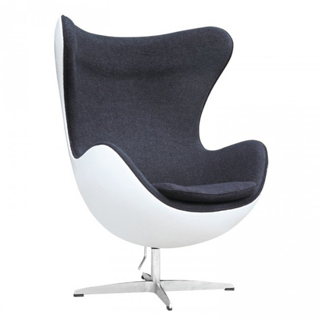 Egg Chair Jacobsen.Ann Jacobsen Egg Chair Fiberglass