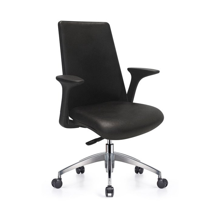 Newport Leather Office Chair Furniture-Office-Office Chairs