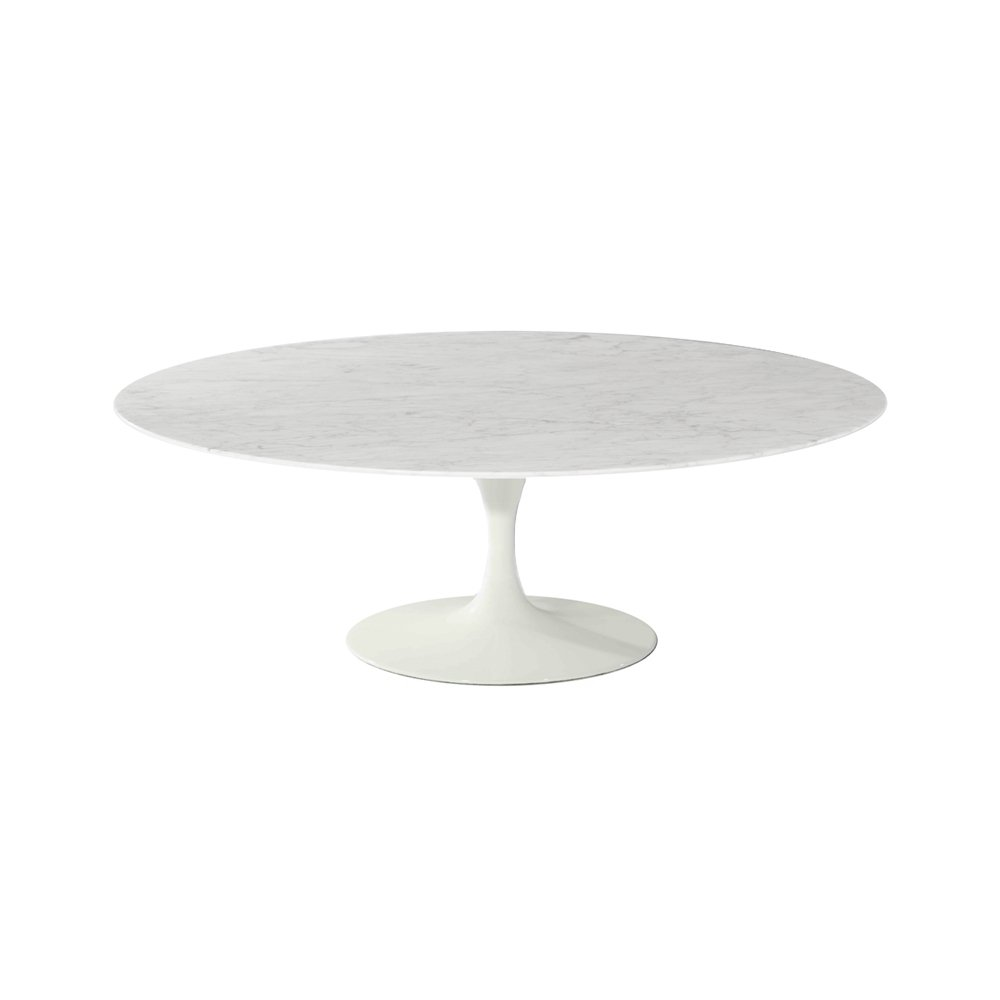 Amazing Sandlake Saarinen 36 Round Tulip Marble Coffee Table Pabps2019 Chair Design Images Pabps2019Com
