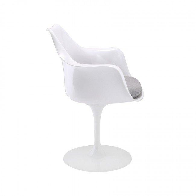 saarinen tulip armchair - white set of 2