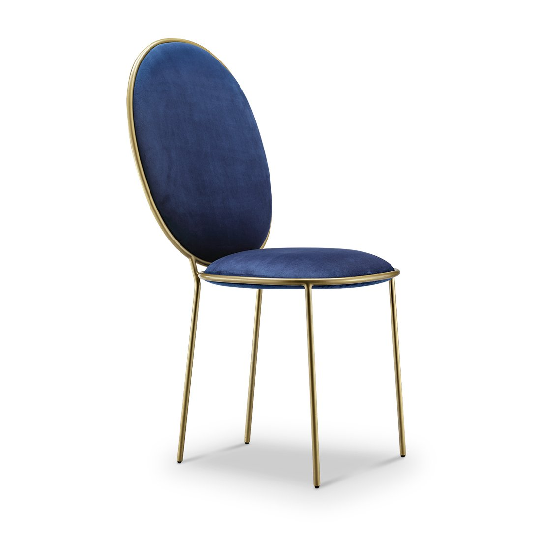 Replica Stay dining chair - blue