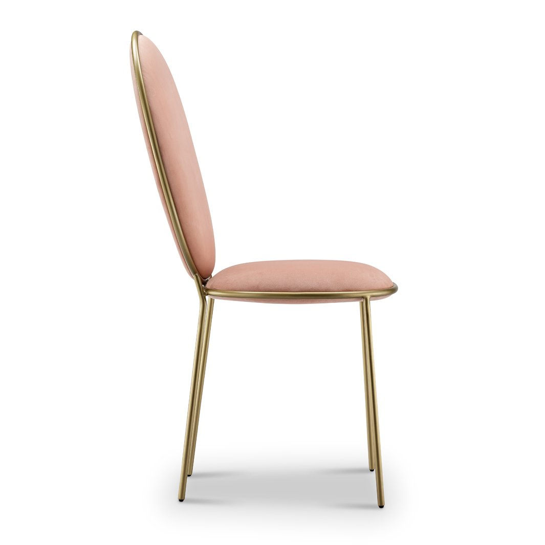 Replica Stay dining chair - blush