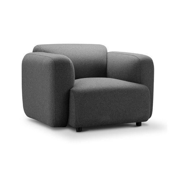 Scott | Swell Armchair Furniture-Living Room-Chairs
