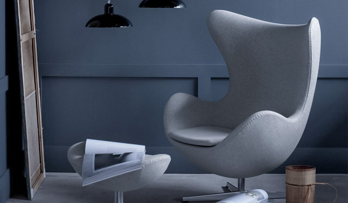 Arne Jacobsen Egg Chair: Mid Century Modern Lounge Chair - Shop HONORMILL.com